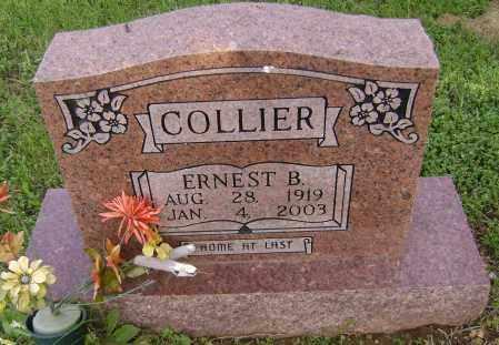 COLLIER, ERNEST B - Sharp County, Arkansas | ERNEST B COLLIER - Arkansas Gravestone Photos