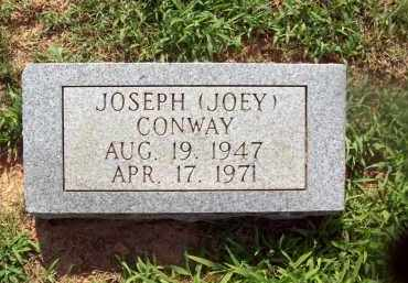 "CONWAY, JOSEPH ""JOEY"" - Sharp County, Arkansas 