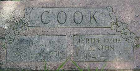HUFF COOK, MYRTLE - Sharp County, Arkansas | MYRTLE HUFF COOK - Arkansas Gravestone Photos