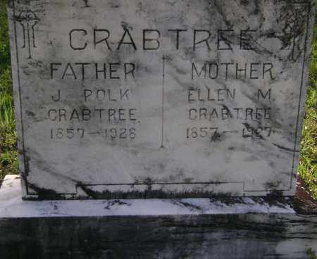 CRABTREE, ELLEN M. - Sharp County, Arkansas | ELLEN M. CRABTREE - Arkansas Gravestone Photos