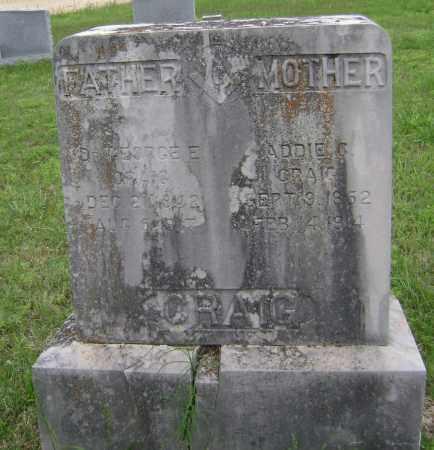 CRAIG, MD, GEORGE EDWARD - Sharp County, Arkansas | GEORGE EDWARD CRAIG, MD - Arkansas Gravestone Photos