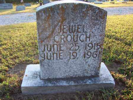 CROUCH, JEWEL - Sharp County, Arkansas | JEWEL CROUCH - Arkansas Gravestone Photos