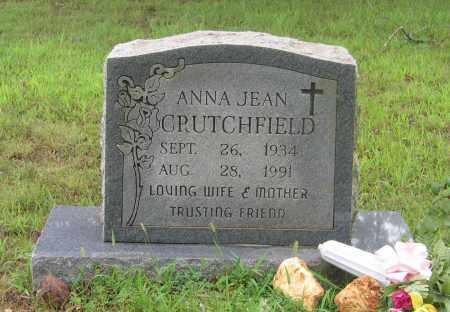 CRUTCHFIELD, ANNA JEAN - Sharp County, Arkansas | ANNA JEAN CRUTCHFIELD - Arkansas Gravestone Photos