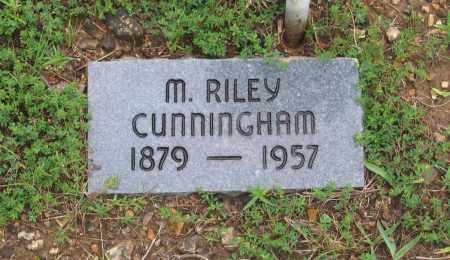 CUNNINGHAM, M. RILEY - Sharp County, Arkansas | M. RILEY CUNNINGHAM - Arkansas Gravestone Photos