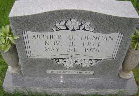 DUNCAN, ARTHUR ULMON - Sharp County, Arkansas | ARTHUR ULMON DUNCAN - Arkansas Gravestone Photos