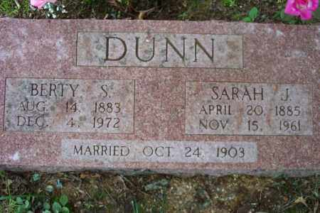 DUNN, SARAH J. - Sharp County, Arkansas | SARAH J. DUNN - Arkansas Gravestone Photos