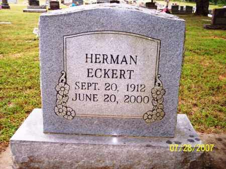 ECKERT, HERMAN - Sharp County, Arkansas | HERMAN ECKERT - Arkansas Gravestone Photos