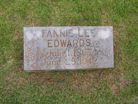 EDWARDS, FANNIE LEE - Sharp County, Arkansas | FANNIE LEE EDWARDS - Arkansas Gravestone Photos