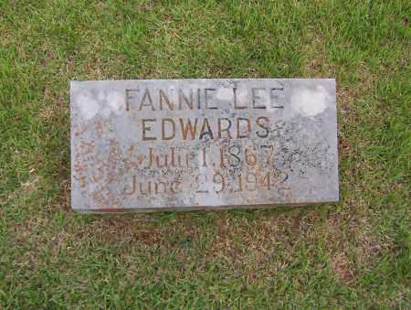 EDWARDS, FANNIE LEE - Sharp County, Arkansas | FANNIE LEE EDWARDS - Arkansas Gravestone Photos
