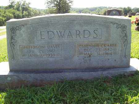 EDWARDS, JEFFERSON DAVIS - Sharp County, Arkansas | JEFFERSON DAVIS EDWARDS - Arkansas Gravestone Photos