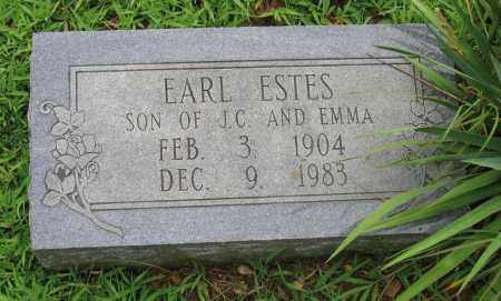 ESTES, EARL - Sharp County, Arkansas | EARL ESTES - Arkansas Gravestone Photos