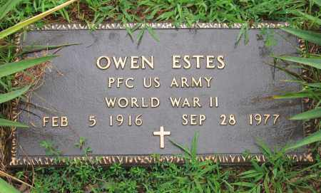 ESTES (VETERAN WWII), OWEN - Sharp County, Arkansas | OWEN ESTES (VETERAN WWII) - Arkansas Gravestone Photos