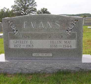 EVANS, GREELEY - Sharp County, Arkansas | GREELEY EVANS - Arkansas Gravestone Photos