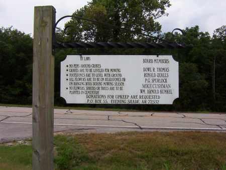 *EVENING SHADE-SHARP CEMETERY,  - Sharp County, Arkansas |  *EVENING SHADE-SHARP CEMETERY - Arkansas Gravestone Photos