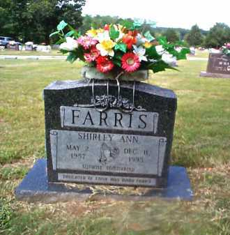 FARRIS, SHIRLEY ANN - Sharp County, Arkansas | SHIRLEY ANN FARRIS - Arkansas Gravestone Photos