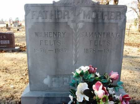 FELTS, SAMANTHA G. - Sharp County, Arkansas | SAMANTHA G. FELTS - Arkansas Gravestone Photos