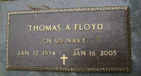 FLOYD (VETERAN), THOMAS A - Sharp County, Arkansas | THOMAS A FLOYD (VETERAN) - Arkansas Gravestone Photos