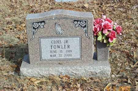 FOWLER, CLOIS JUNIOR - Sharp County, Arkansas | CLOIS JUNIOR FOWLER - Arkansas Gravestone Photos