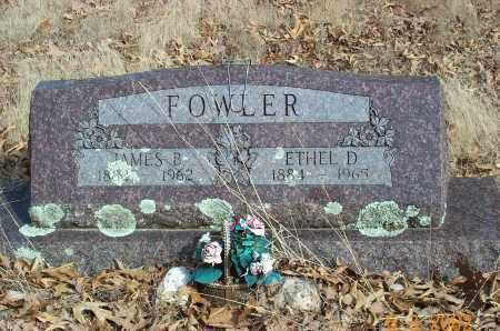 HOTCHKISS FOWLER, ETHEL DORA - Sharp County, Arkansas | ETHEL DORA HOTCHKISS FOWLER - Arkansas Gravestone Photos