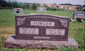 FOWLER, FRANCIS MERLE - Sharp County, Arkansas | FRANCIS MERLE FOWLER - Arkansas Gravestone Photos