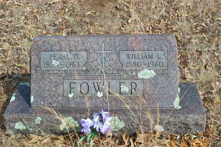 FOWLER, WILLIAM LEWIS - Sharp County, Arkansas | WILLIAM LEWIS FOWLER - Arkansas Gravestone Photos