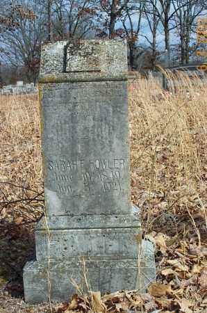 THOMAS FOWLER, SARAH FANNIE - Sharp County, Arkansas | SARAH FANNIE THOMAS FOWLER - Arkansas Gravestone Photos