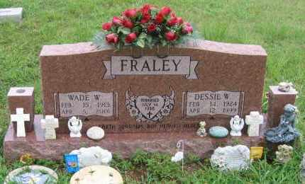 FRALEY, WADE WELCH - Sharp County, Arkansas | WADE WELCH FRALEY - Arkansas Gravestone Photos
