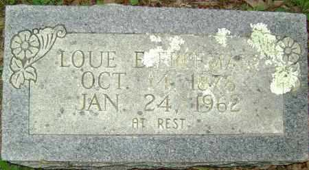 FREEMAN, LOUE E - Sharp County, Arkansas | LOUE E FREEMAN - Arkansas Gravestone Photos
