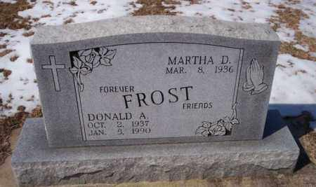 FROST, DONALD A - Sharp County, Arkansas | DONALD A FROST - Arkansas Gravestone Photos