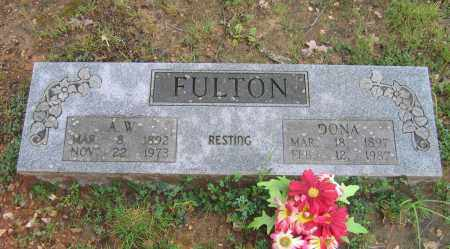FULTON, A. W. - Sharp County, Arkansas | A. W. FULTON - Arkansas Gravestone Photos