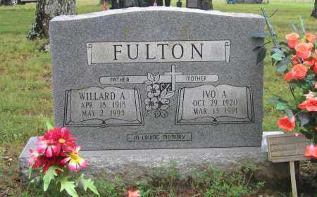 FULTON, IVO A. - Sharp County, Arkansas | IVO A. FULTON - Arkansas Gravestone Photos