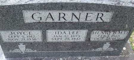 GARNER, JOYCE - Sharp County, Arkansas | JOYCE GARNER - Arkansas Gravestone Photos