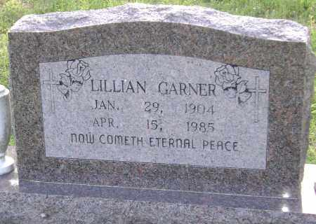 GARNER, LILLIAN - Sharp County, Arkansas | LILLIAN GARNER - Arkansas Gravestone Photos