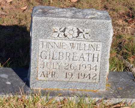 GILBREATH, TINNIE WILLINE - Sharp County, Arkansas | TINNIE WILLINE GILBREATH - Arkansas Gravestone Photos