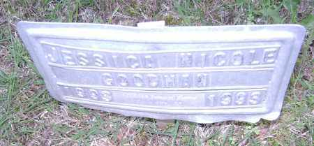 GOODMAN, JESSICA NICOLE - Sharp County, Arkansas | JESSICA NICOLE GOODMAN - Arkansas Gravestone Photos