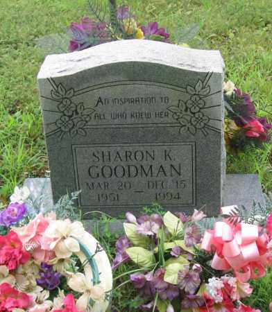 GOODMAN, SHARON K. - Sharp County, Arkansas | SHARON K. GOODMAN - Arkansas Gravestone Photos