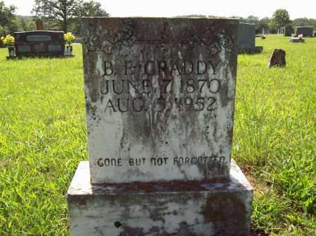 "GRADDY, BENJAMIN FRANKLIN ""FRANK"" - Sharp County, Arkansas | BENJAMIN FRANKLIN ""FRANK"" GRADDY - Arkansas Gravestone Photos"