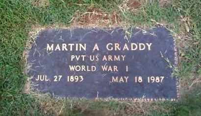 GRADDY (VETERAN WWI), MARTIN A - Sharp County, Arkansas | MARTIN A GRADDY (VETERAN WWI) - Arkansas Gravestone Photos