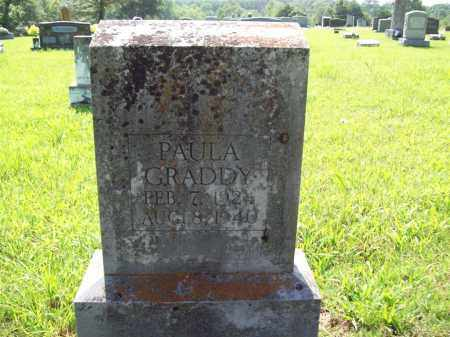 GRADDY, PAULA - Sharp County, Arkansas | PAULA GRADDY - Arkansas Gravestone Photos