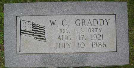 GRADDY (VETERAN), W C - Sharp County, Arkansas | W C GRADDY (VETERAN) - Arkansas Gravestone Photos