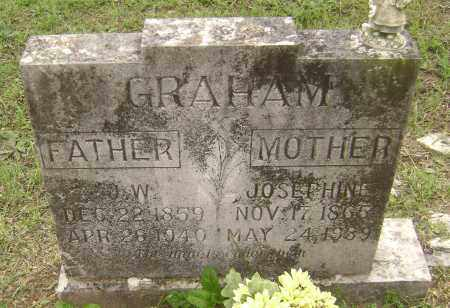 GRAHAM, JOSEPHINE - Sharp County, Arkansas | JOSEPHINE GRAHAM - Arkansas Gravestone Photos