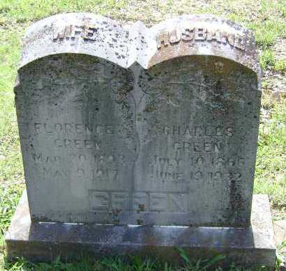 GREEN, CHARLES - Sharp County, Arkansas | CHARLES GREEN - Arkansas Gravestone Photos