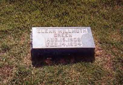 GREEN, ELEAR - Sharp County, Arkansas | ELEAR GREEN - Arkansas Gravestone Photos