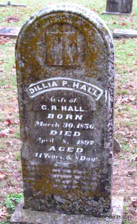HALL, DILLIA P. - Sharp County, Arkansas   DILLIA P. HALL - Arkansas Gravestone Photos