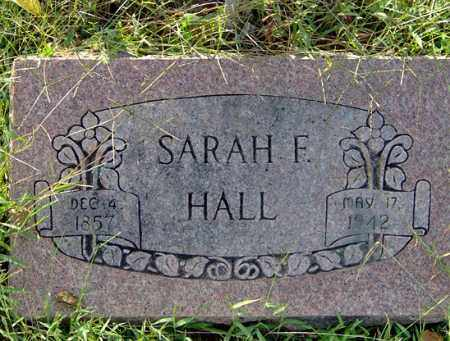 HALL, SARAH - Sharp County, Arkansas | SARAH HALL - Arkansas Gravestone Photos