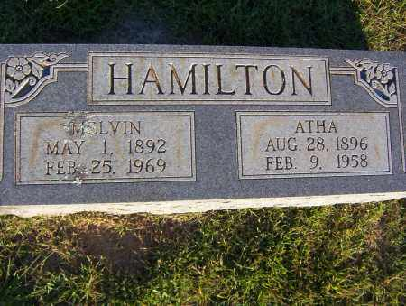 HAMILTON, MELVIN - Sharp County, Arkansas | MELVIN HAMILTON - Arkansas Gravestone Photos