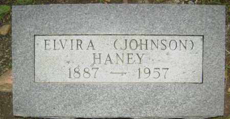 JOHNSON HANEY, ELVIRA - Sharp County, Arkansas | ELVIRA JOHNSON HANEY - Arkansas Gravestone Photos
