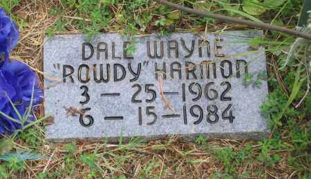 "HARMON, DALE WAYNE ""ROWDY"" - Sharp County, Arkansas 