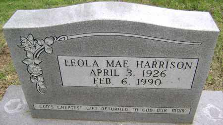 HARRISON, LEOLA MAE - Sharp County, Arkansas | LEOLA MAE HARRISON - Arkansas Gravestone Photos