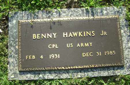 HAWKINS, JR. (VETERAN), BENNY - Sharp County, Arkansas | BENNY HAWKINS, JR. (VETERAN) - Arkansas Gravestone Photos